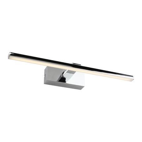 Настенный светодиодный светильник для подсветки зеркал Omnilux Bresso OML-24111-08, IP44, LED 8W 4000K 440lm