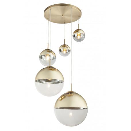 Люстра-каскад Globo Varus 15855-5, 3xE27x40W, металл, стекло