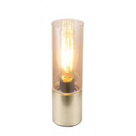 Настольная лампа Globo Annika 21000M, 1xE27x25W, металл, стекло