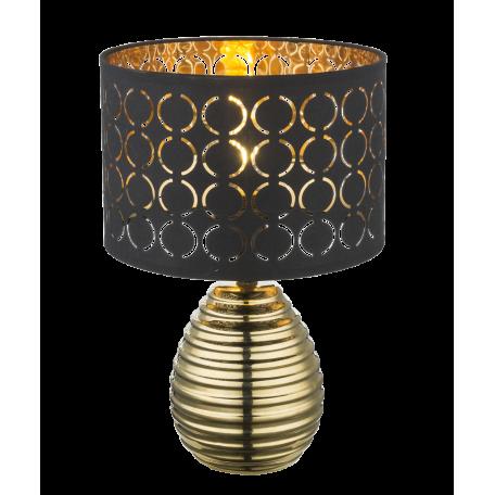 Настольная лампа Globo Mirauea 21616, 1xE27x60W, керамика, текстиль