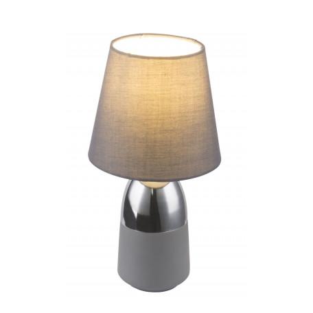 Настольная лампа Globo Eugen 24135C, 1xE14x40W, металл, текстиль