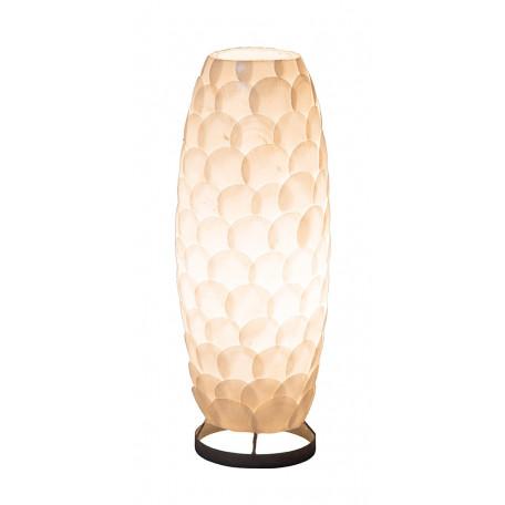 Настольная лампа Globo Bali 25855T, 1xE27x40W, металл, ракушки