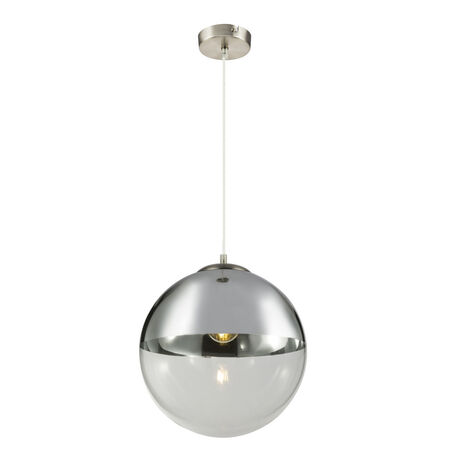 Подвесной светильник Globo Varus 15854, 1xE27x40W, металл, стекло