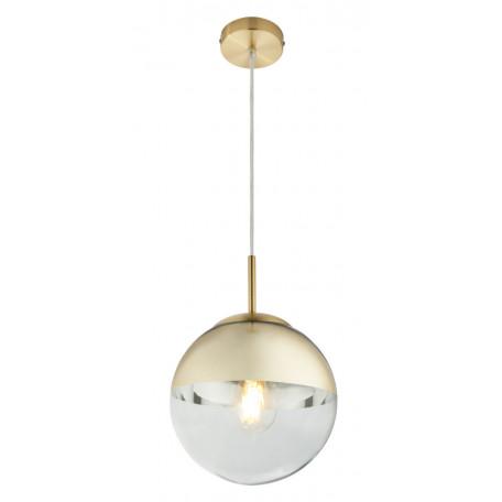 Подвесной светильник Globo Varus 15855, 1xE27x40W, металл, стекло