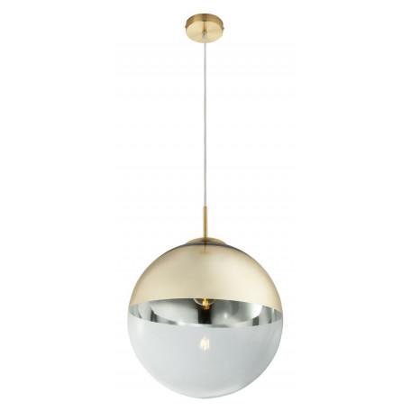 Подвесной светильник Globo Varus 15858, 1xE27x40W, металл, стекло
