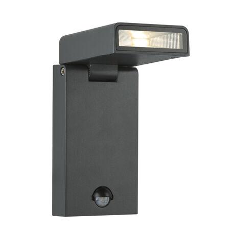 Настенный светодиодный светильник с регулировкой направления света Globo Sparrow 34310S, IP44, LED 6,8W 3000K, металл