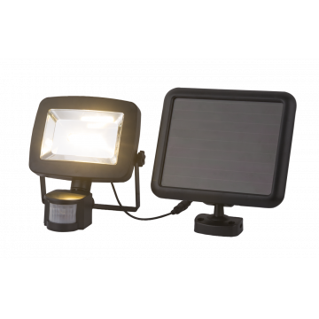 Светодиодный прожектор Globo Solar 37201S, IP44, LED 3W 3500K, пластик