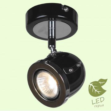 Настенный светильник с регулировкой направления света Lussole Loft Tivoli GRLSN-3121-01, IP21, 1xGU10x5,5W, черный, металл