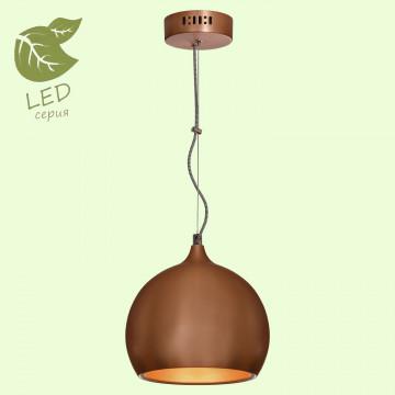 Подвесной светильник Lussole Loft Aosta GRLSN-6106-01, IP21, 1xE27x10W, медь, металл