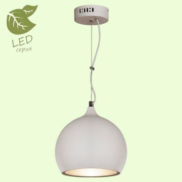 Подвесной светильник Lussole Loft Aosta GRLSN-6126-01, IP21, 1xE27x10W, белый, металл