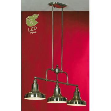 Потолочный светильник на составной штанге Lussole Loft Sona GRLSL-3013-03, IP21, 3xE27x10W, бронза, металл