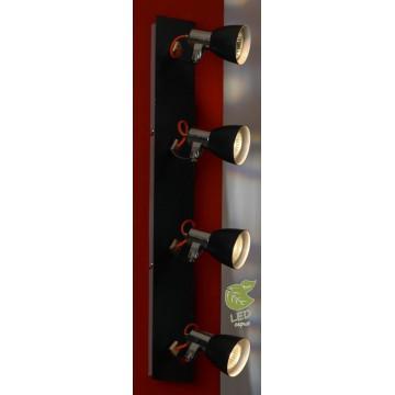 Потолочный светильник с регулировкой направления света Lussole Loft Frontino GRLSL-7409-04