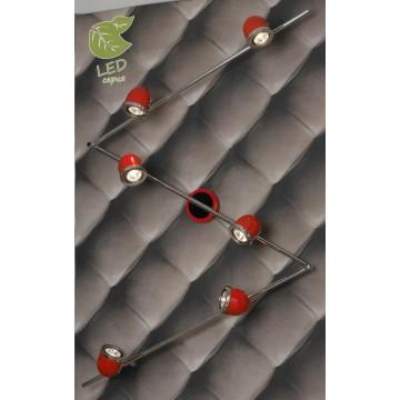 Потолочный светильник с регулировкой направления света Lussole Loft Tivoli GRLSN-3109-06