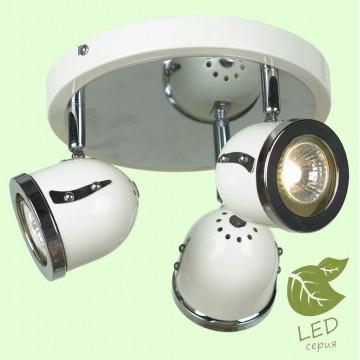 Потолочная люстра с регулировкой направления света Lussole Loft Tivoli GRLSN-3117-03