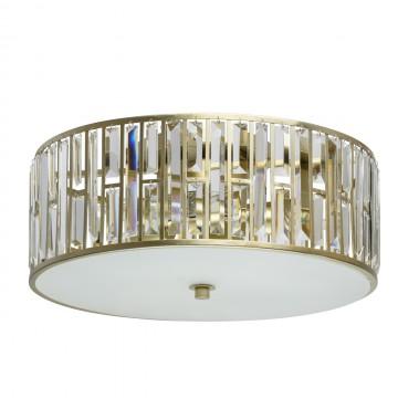 Потолочная люстра MW-Light Монарх 121010205, матовый, перламутровый, прозрачный, металл, стекло, хрусталь