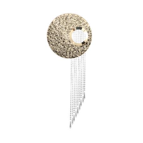 Настенный светильник ST Luce Petore SL1106.201.03, 3xG9x3W, золото, прозрачный, металл, хрусталь