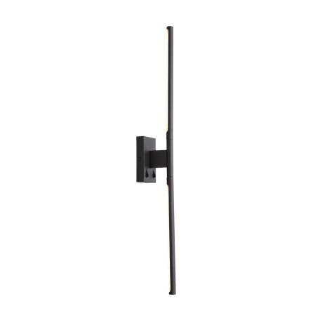 Настенный светодиодный светильник ST Luce Ralio SL1580.401.01, LED 12W 3200K 936lm, черный, металл, металл с пластиком