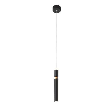 Подвесной светодиодный светильник ST Luce Tuore SL1592.403.01, IP21, LED 6W 3000K 468lm, черный, металл