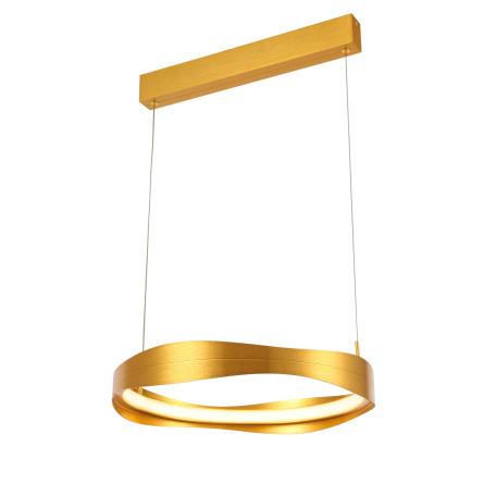 Подвесной светодиодный светильник ST Luce Elazzo SL1594.203.01, LED 34W 3000K 2584lm, матовое золото, металл