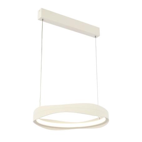 Подвесной светодиодный светильник ST Luce Elazzo SL1594.503.01, LED 34W 3000K 2584lm, белый, металл