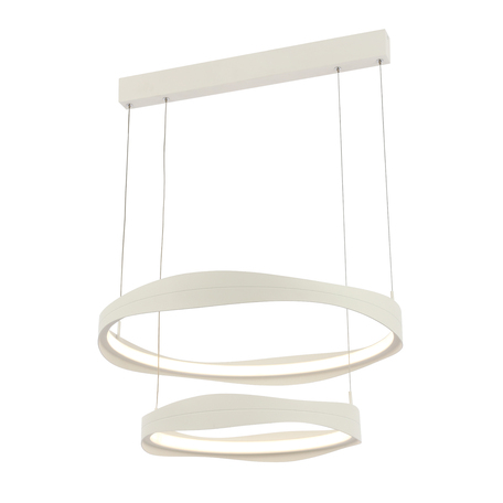 Подвесной светодиодный светильник ST Luce Elazzo SL1594.503.02, LED 84W 3000K 6384lm, белый, металл