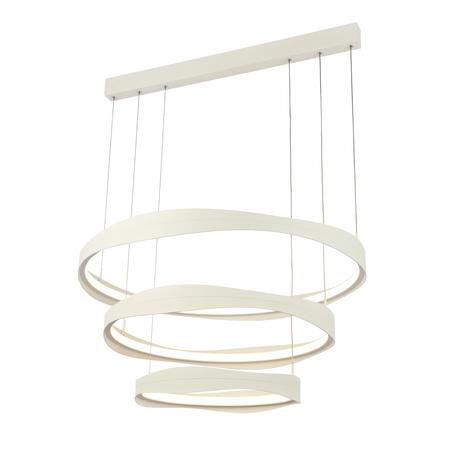Подвесной светодиодный светильник ST Luce Elazzo SL1594.503.03, LED 148W 3000K 11248lm, белый, металл
