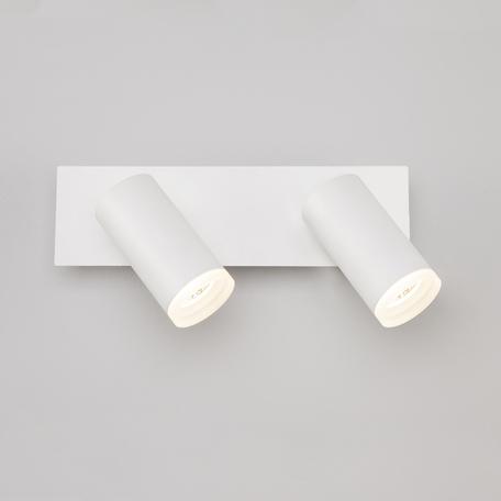 Потолочный светодиодный светильник с регулировкой направления света Eurosvet Holly 20067/2 LED белый 10W, LED 10W 4200K 920lm, белый, металл