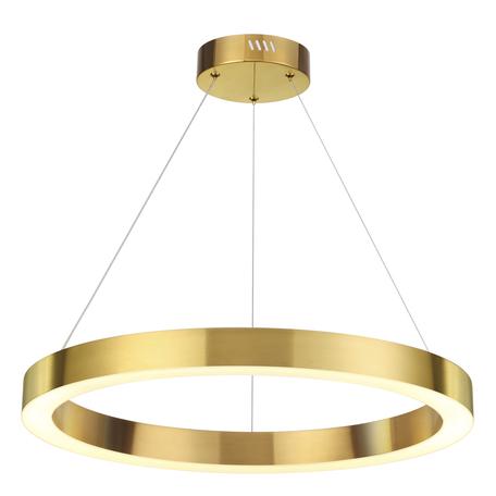 Подвесной светодиодный светильник Odeon Light L-Vision Brizzi 3885/35LG, LED 35W 4000K 2640lm, золото, металл