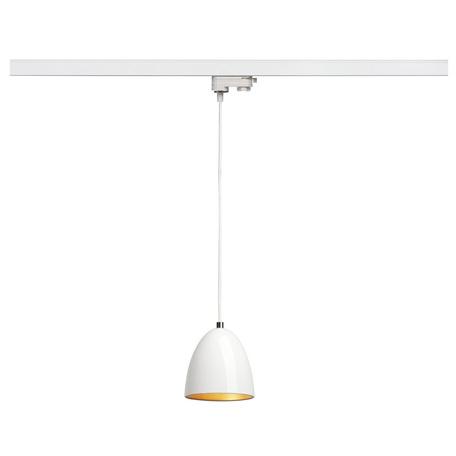 Подвесной светильник для шинной системы SLV 3Ph, PARA CONE 14 153141, 1xGU10x35W, белый
