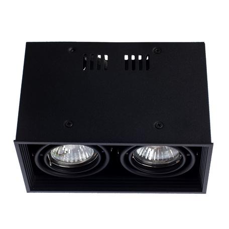 Arte Lamp Cardani  Piccolo A5942PL-2BK, 2xGU10x50W, черный