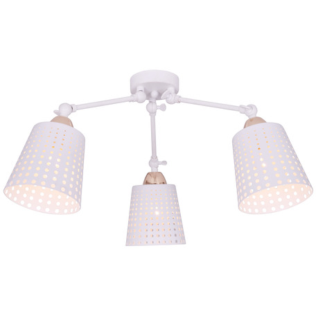 Потолочная люстра Toplight Kristiana TL1154-3D, 3xE14x40W, белый, металл