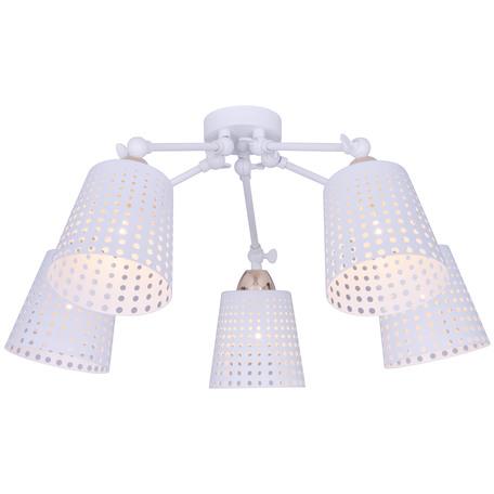 Потолочная люстра Toplight Kristiana TL1154-5D, 5xE14x40W, белый, металл
