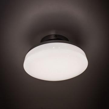 Потолочный светодиодный светильник Citilux Тамбо CL716011Wz, LED 12W 3000K 1000lm, хром, белый, металл, пластик - миниатюра 5