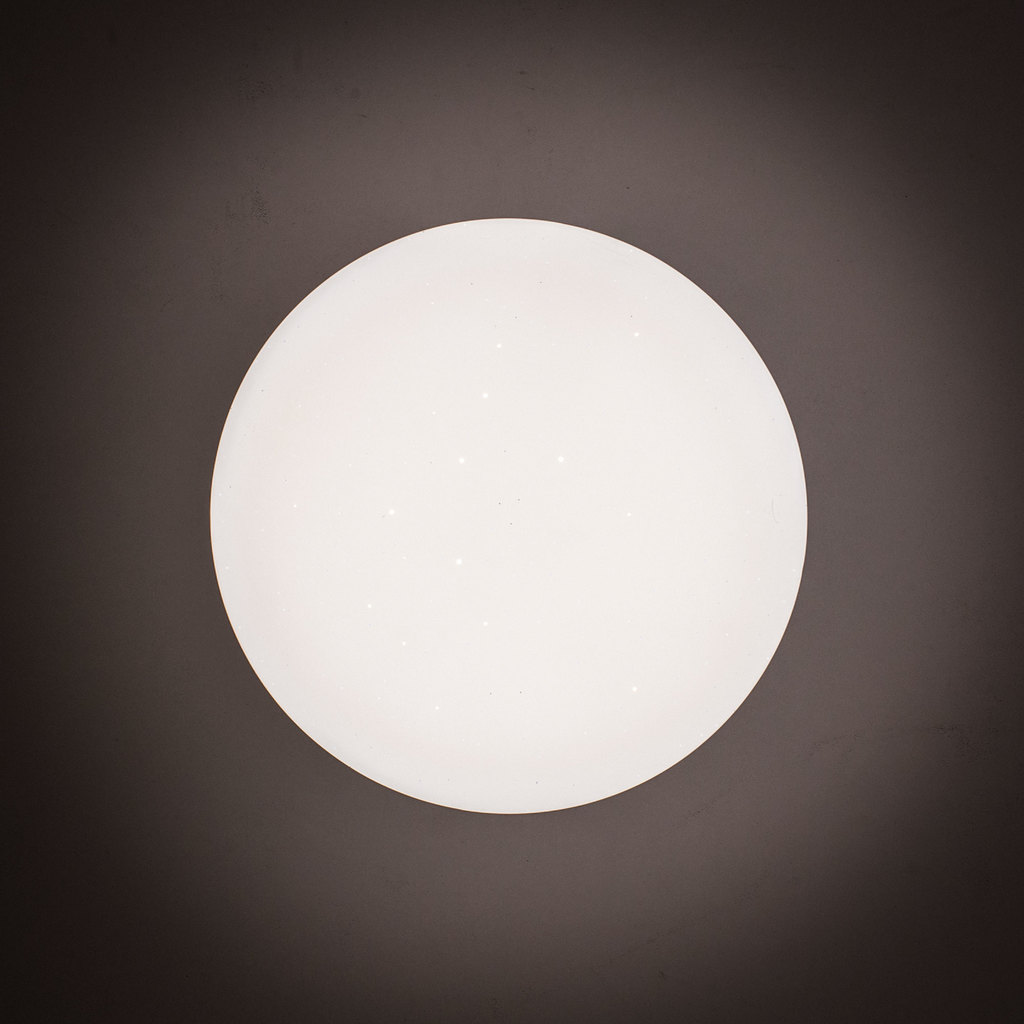 Потолочный светодиодный светильник Citilux Тамбо CL716011Wz, LED 12W 3000K 1000lm, хром, белый, металл, пластик - фото 8