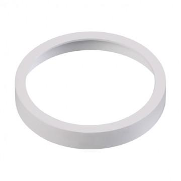 Декоративная рамка Novotech Metis 357591, IP44, белый, металл