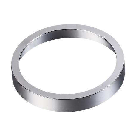 Декоративная рамка Novotech Metis 357593, IP44, хром, металл
