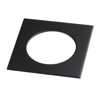 Декоративная рамка Novotech Metis 357595, IP44, черный, металл