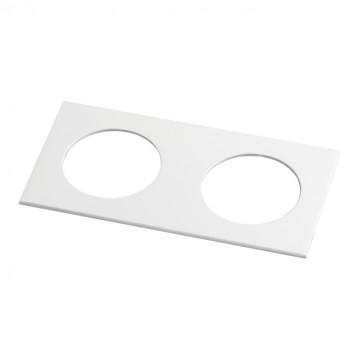 Декоративная рамка Novotech Metis 357596, IP44, белый, металл