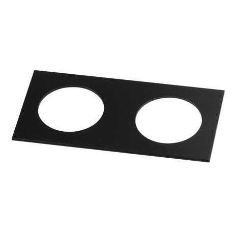 Декоративная рамка Novotech Metis 357597, IP44, черный, металл