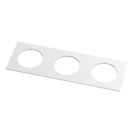 Декоративная рамка Novotech Metis 357598, IP44, белый, металл