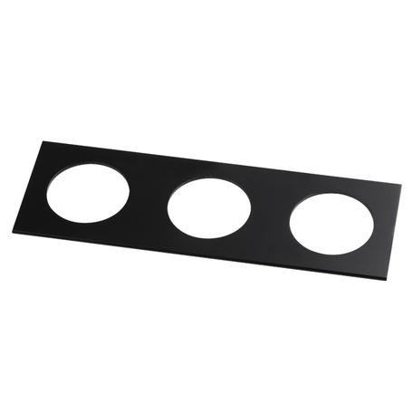 Декоративная рамка Novotech Metis 357599, IP44, черный, металл