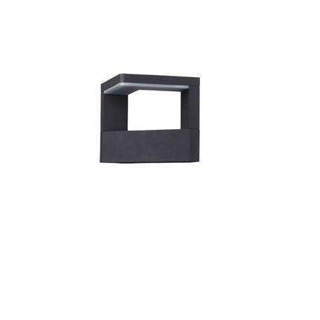 Настенный светодиодный светильник Novotech Street Roca 357675, IP65, LED 20W 3000K 1200lm, серый, металл, пластик