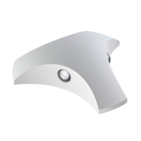 Настенный светодиодный светильник Novotech Street Calle 357679, IP54, LED 6W 3000K 312lm, белый, металл