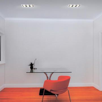 Потолочная люстра с регулировкой направления света Lumion Kriya 3589/5C, 5xE27x60W, черный хром, металл - миниатюра 2
