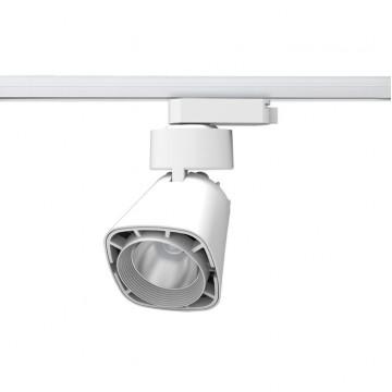 Светодиодный светильник для шинной системы Novotech Hosta 357703, 3000K (теплый), белый, металл