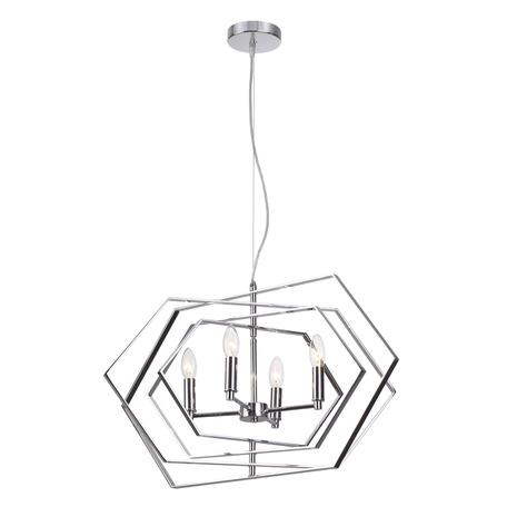 Подвесная люстра Odeon Light Modern Stola 4664/4, 4xE14x40W, хром, металл