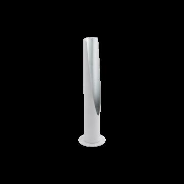 Настольная лампа Eglo Barbotto 97581, 1xGU10x5W, серебро, металл