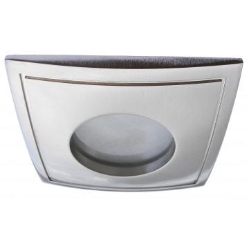 Встраиваемый светильник Arte Lamp Aqua A5444PL-3SS, IP44, 1xGU10x50W, серебро, металл, стекло