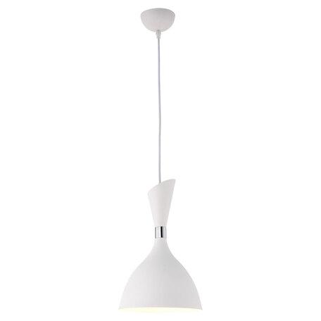 Подвесной светильник Lussole LGO Marion LSP-8151, IP21, 1xE27x60W, белый, металл