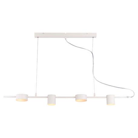 Подвесной светодиодный светильник Lussole Loft Pickwick LSP-8153, IP21, LED 32W 3000K, белый, металл